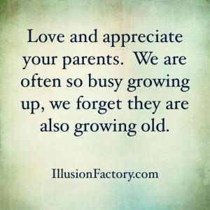 Remember Love Your Parents