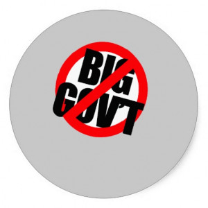 Anti-Obama - Anti- Big Government Stickers