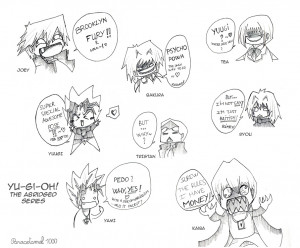 Yu-Gi-Oh The Abridged Series - Quotes by Paracetamol