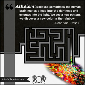 Atheism: Because sometimes the human brain makes a leap into the ...