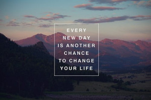 Every Day is a new day Funny Quote Picture