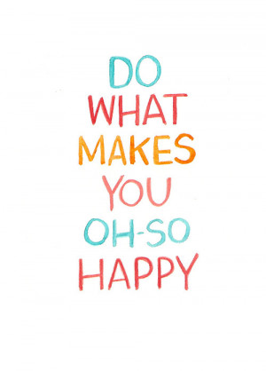 happy inspiration text post and image