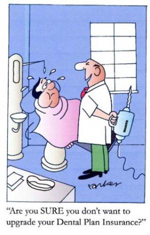 Cartoon: Dental Plan Insurance (medium) by Dave Parker tagged dentist ...