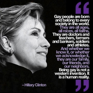 wonderful quote by Hilary Clinton
