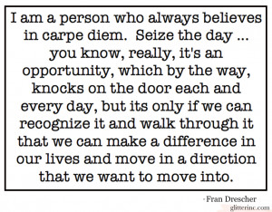 Carpe Diem, And Other Brilliant Advice from Fran Drescher