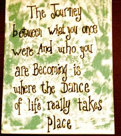 quote....LIVE LIFE TO THE FULLEST! God blessed us with life ...