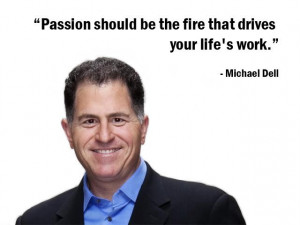 fire that drives your life's work.
