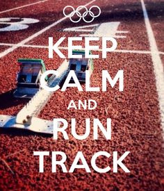 Track. Definitely not an easy sport but worth it for the feeling after ...