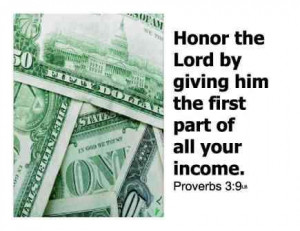 ... Bible Verses that Encourage Generosity, Giving, Tithing, Offering