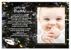 Father 39 s Day Poem and Frame Gift from Son or Daughter Add Photo