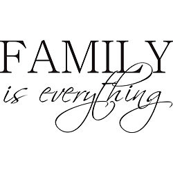 Design on Style 'Family is Everything' Vinyl Wall Art Quote Today: $28 ...