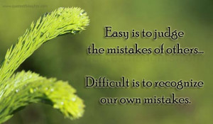 Mistakes Quotes Easy