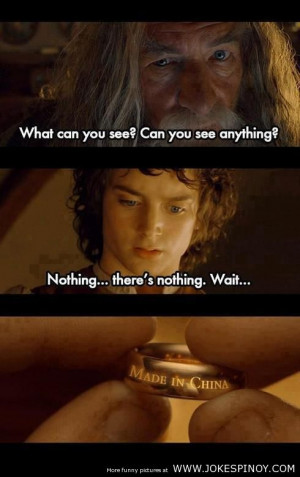 Lord of the Ring – Made in China