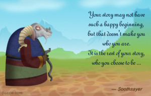 Kung Fu Panda 2 quote by Soothsayer