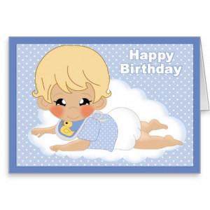 ... baby happy birthday baby boy cute second birthday card happy birthday
