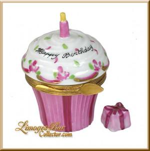 Cupcake Birthday Quote Cake...