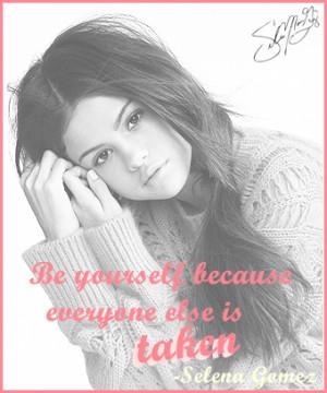Selena Gomez Quotes 2013 Selena gomez quote 5 by