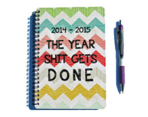 ... Done - Chevron Month Daily Student Agenda Weekly College Motivational