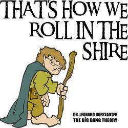 leonard_hobbit_costume_greeting_card.jpg?height=250&width=250 ...
