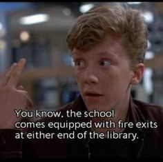 The Breakfast Club... always someone More
