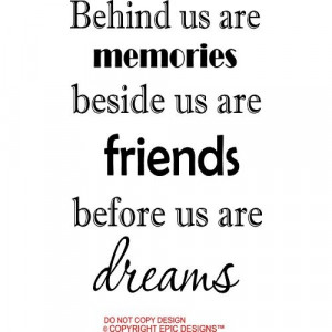 sayings and quotes about friendship memories