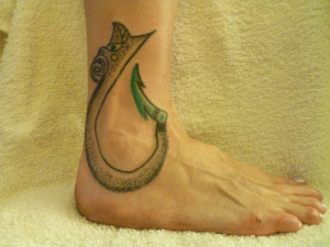 tattoo # fish hook tattoo relationship relationship quotes love quotes