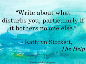 Kathryn Stockett quote, The Help