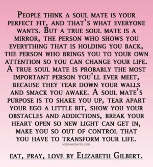 soul mate love quotes for you quotesgram