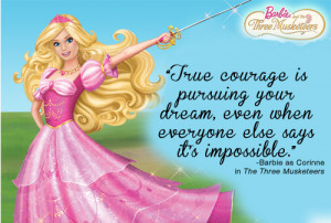 let Barbie be an inspirational guide.