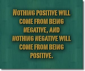 being positive quotes positive quotes positive thinking quotes famous ...