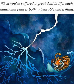 Life of Pi Illustrated book movie sayingsLife of Pi Illustrations ...
