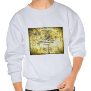 Shakespeare quote about happiness and laughter pull over sweatshirt