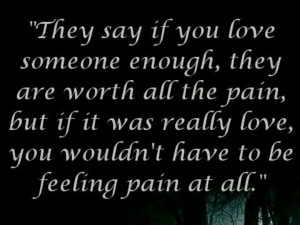 Don't hurt the ones you love
