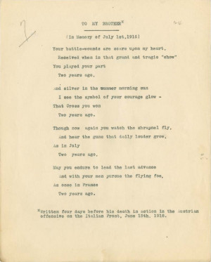 My Brother Poems http://pw20c.mcmaster.ca/brittain-vera-poem-june-1918