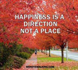 Happy fall walking.