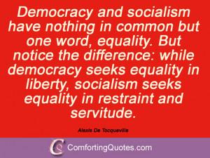 Sayings By Alexis De Tocqueville