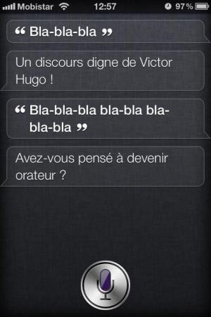 SIRI : Quote du jour n°2] Vous êtes Victor Hugo !