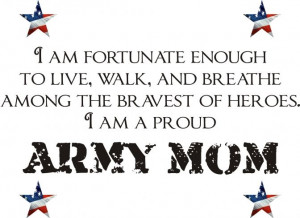 Military Mom Quotes   Setting for Four: My Son Was Inducted Into The ...
