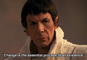 Inspirational Quotes 10 Spock Star Trek Inspirational Quotes change_g