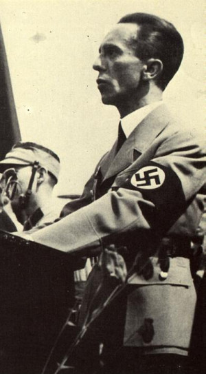 Joseph Goebbels, Propaganda Minister of the Third Reich