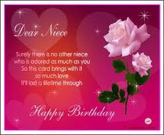 birthday quotes for niece best wishes More