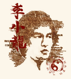 Bruce Lee Philosophy T Shirt By BioWorkZ