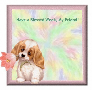 Searched for Have A Blessed Week Graphics