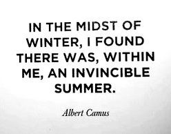 Winter Blues pictures and quotes | in the midst of winter, i found ...
