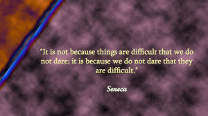 Difficult times in inspirational quotes on wallpaper