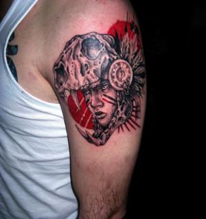 Hood Tattoos Infra-red riding hood ??tattoo