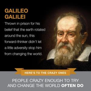 GALILEO GALILEI Famous Failure