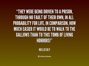 Quotes About Being in Prison