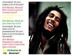 Bob Marley Quotes About Men Bob marley: what do you mean
