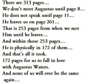 augustus waters, hazel grace, lovestory, the fault in our stars